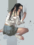 NYX No.4 Cover: X-23 Plastic Sign