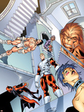 Alpha Flight 4 Cover: Alpha Flight Plastic Sign by Clayton Henry