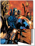Ultimate War No.3 Group: Thor and Captain America Posters by Chris Bachalo