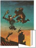Logan No.3 Cover: Wolverine Wood Print by Eduardo Risso