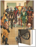 X-Men Origins: Wolverine No.1 Group: Storm Wood Print by Mark Texeira