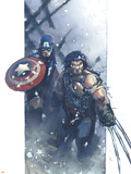 Ultimate War No.3 Cover: Wolverine Wall Decal by Chris Bachalo