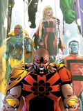 Exiles No.63 Cover: Hyperion, Colossus and Vision Wall Decal by Mizuki Sakakibara
