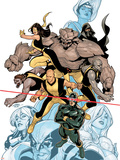 Young X-Men No.1 Cover: Cyclops Plastic Sign by Terry Dodson