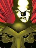 Astonishing X-Men N10 Cover: Professor X Plastic Sign by John Cassaday
