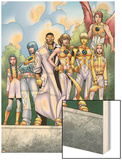 The Official Handbook Of The Marvel Universe Teams 2005 Group: Elixir Prints by Randy Green