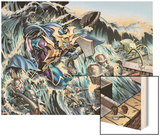Alpha Flight No.1: Altuma Wood Print by Dale Eaglesham