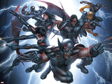 X-Force/Cable: Messiah War No.1 Group: Wolverine Wall Decal by Mike Choi