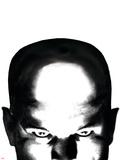 Astonishing X-Men No.10 Cover: Professor X Plastic Sign by John Cassaday