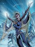 Uncanny X-Men No.459 Cover: Storm Plastic Sign by Alan Davis