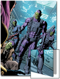 X-Men No.28: Skrulls Walking Art by Will Conrad