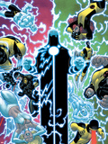 X-Men No.12 Cover: Wolverine, Moon Knight, Cyclops, Archangel, Jean Grey, and Emma Frost Wall Decal by Ed McGuinness