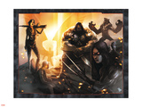 X-Force/Cable: Messiah War No.1 Group: Domino, X-23, Warpath and Wolfsbane Wall Decal by Dave Wilkins
