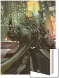 X-Men Unlimited 2 Cover: Bishop Wood Print by Pat Lee