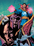 Excalibur No.13 Cover: Dr. Strange, Magneto and Professor X Wall Decal by Aaron Lopresti