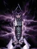New Mutants No.11 Cover: Ashida and Noriko Plastic Sign by Chris Bachalo