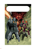 X-Men: First Class No.11 Group: Dr. Doom, Mephisto and Green Goblin Plastic Sign by Nick Dragotta