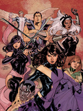 Uncanny X-Men No.538 Cover: Kitty Pryde, Psylocke, Colossus, Hope Summers, Storm, Namor, and Angel Plastic Sign by Terry Dodson