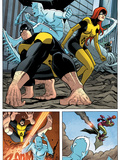 X-Men: First Class No.11 Group: Beast, Iceman and Marvel Girl Art by Nick Dragotta