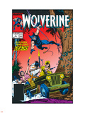 Wolverine No.5 Cover: Wolverine Plastic Sign by John Buscema