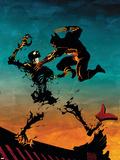 Logan No.3 Cover: Wolverine Plastic Sign by Eduardo Risso