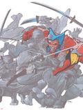 Wolverine TPB Cover Cover: Wolverine Kunststof bord van Frank Miller