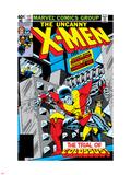 Uncanny X-Men No.122 Cover: Colossus and Wolverine Kalkomania ścienna autor Dave Cockrum