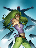 Ultimate X-Men No.61 Cover: Polaris Plastic Sign by Stuart Immonen