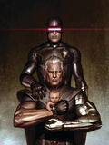Cable No.6 Cover: Cyclops and Cable Plastic Sign by Adi Granov