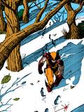 Classic X-Men No.23: Wolverine Plastic Sign by John Bolton