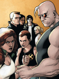 X-Factor No.20 Cover: Madrox, Strong Guy, Wolfsbane, Siryn, Rictor, M, Miller and Layla Plastic Sign by Khoi Pham
