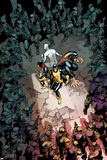 All-New X-Men 13 Cover: Cyclops, Grey, Jean, Iceman, Beast Plastic Sign by Stuart Immonen