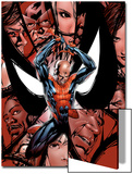 House Of M No.5 Cover: Spider-Man, Peter Parker, Charging Posters by Mike McKone