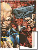 Weapon X: Days Of Future Now No.2 Cover: Professor X Wood Print by Bart Sears