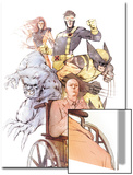 X-Men: Odd Men Out Cover: Xavier, Charles, Beast, Cyclops, Wolverine, Grey and Jean Prints by Eric Nguyen