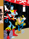 Classic X-Men No.23: Wolverine, Nightcrawler and Colossus Plastic Sign by Mark Chiarello