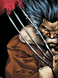 Weapon X: Days Of Future Now No.1 Cover: Wolverine Plastic Sign by Bart Sears