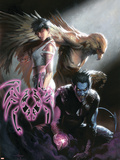 Ultimate X-Men No.95 Cover: Dazzler, Nightcrawler and Angel Wall Decal