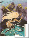 Classic X-Men No.20 Cover: Storm Wood Print by John Bolton