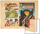 Marvel Comics Presents No.2 Cover: Wolverine Wood Print by John Buscema