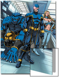 Cable & Deadpool No.6 Group: Cyclops, Beast and Emma Frost Poster by Patrick Zircher