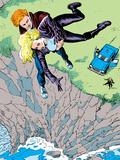 Classic X-Men No.16 Cover: Banshee Plastic Sign by John Bolton