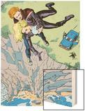 Classic X-Men No.16 Cover: Banshee Wood Print by John Bolton