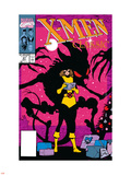 X-Men Classic No.47 Cover: Shadowcat Wall Decal by Steve Lightle