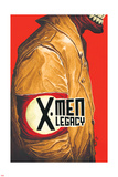 X-Men Legacy 12 Cover: X-Men (General) Plastic Sign by Mike Del Mundo