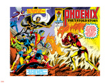 Phoenix: The Untold Story No.1 Cover: Grey Wall Decal by John Byrne