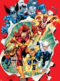 Uncanny X-Men No.392 Group: Phoenix Plastic Sign by Salvador Larroca