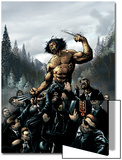 Wolverine No.16 Cover: Wolverine Prints by Darick Robertson
