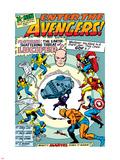 X-Men No.9 Cover: Lucifer Znaki plastikowe autor Jack Kirby