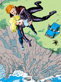 Classic X-Men No.16 Cover: Banshee Wall Decal by John Bolton